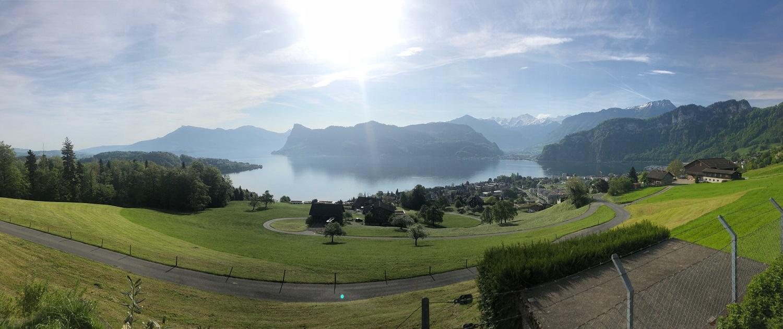 Panoramabild Luzern