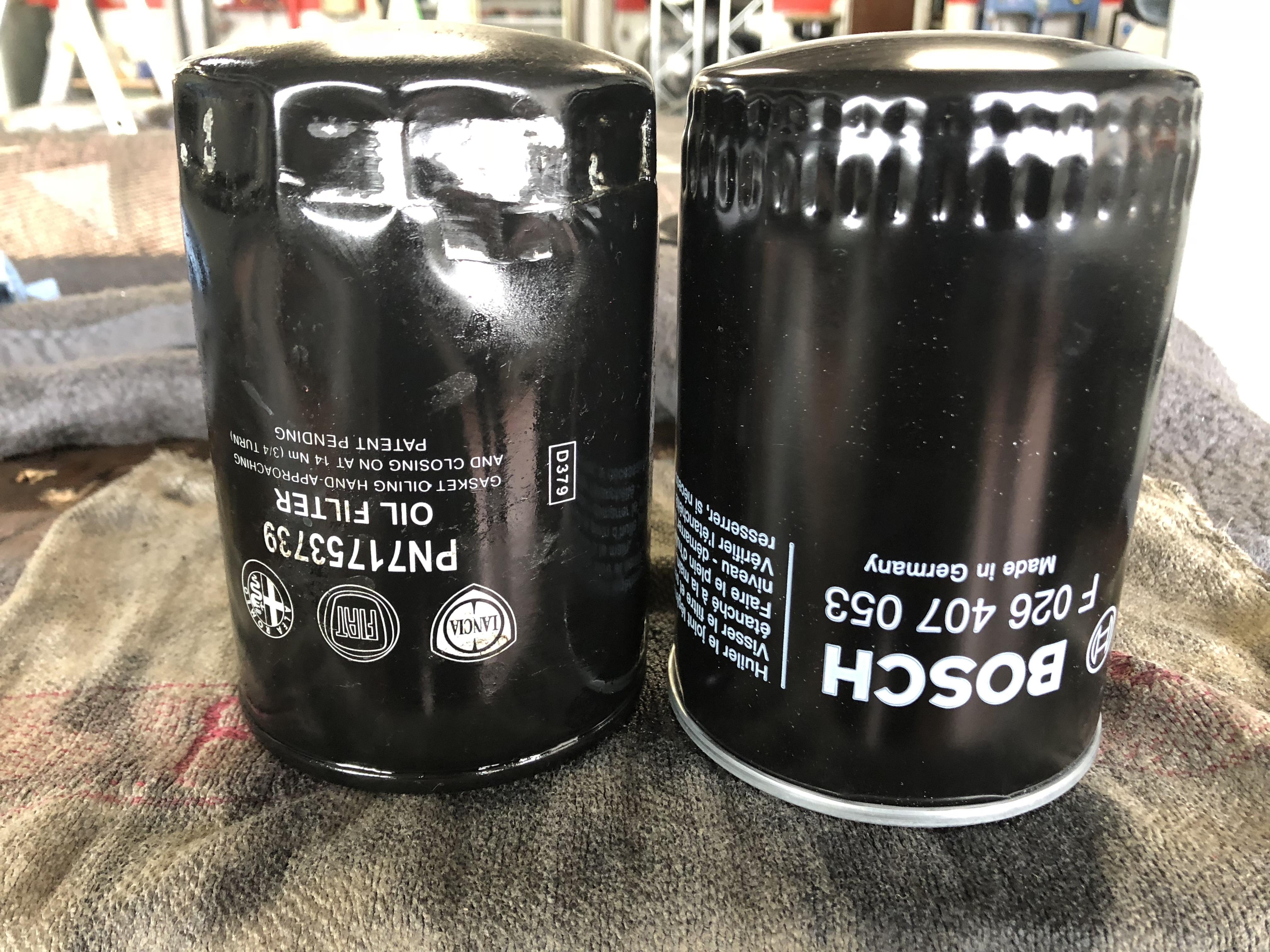 Ölfilter von Bosch